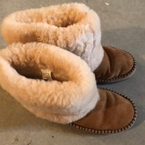 Ugg Size 7 Suede Boots winter Shoes shearling